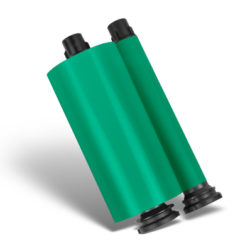 Aqua Green Resin Ribbon