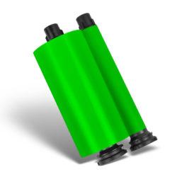 Hot Green Resin Ribbon