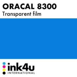 Oracal 8300 Transparent Traffic Blue 057