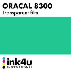 Oracal 8300 Transparent Blue Green 097