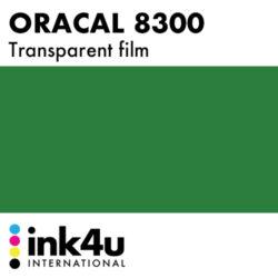 Oracal 8300 Transparent Dark Green 060