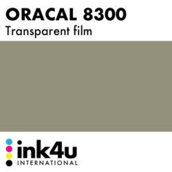 Oracal 8300 Transparent Film Dark Grey 073