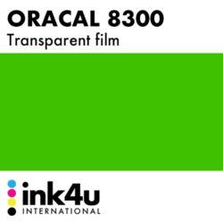 Oracal 8300 Transparent Grass Green 068