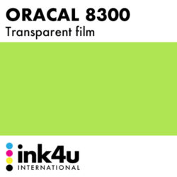 Oracal 8300 Transparent Lime Tree Green 063