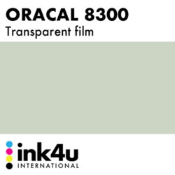 Oracal 8300 Transparent Middle Grey 074