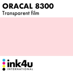 Oracal 8300 Transparent Pale Pink 085