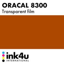 Oracal 8300 Transparent Reddish Brown 079