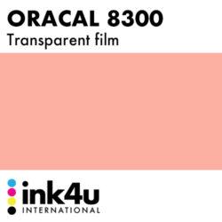 Oracal 8300 Transparent Salmon Pink 089