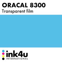 Oracal 8300 Transparent Steel Blue 096