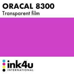 Oracal 8300 Transparent Telemagenta 077