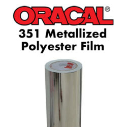 Oracal 351 Metallized Polyester Film Chrome