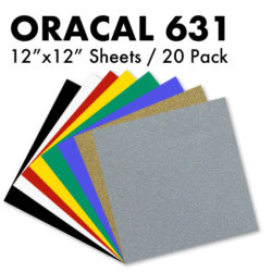 Oracal 631 Vinyl sheets