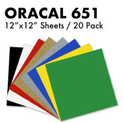 Oracal 651 Sheets Pack