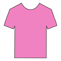 DIGI-HTV Fluorescent Pink heat transfer vinyl
