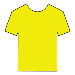 DIGI-HTV Fluorescent Yellow heat transfer vinyl